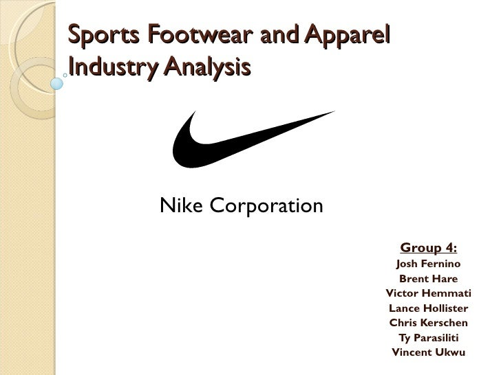 Nike Industry Analysis Presentation