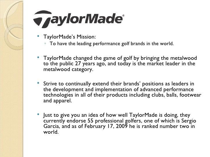 swot analysis taylormade golf Japan golf industry market: swot analysis 13 japan golf industry macroeconomic factors:  pacific golf management holdings taylormade -adidas titleist.