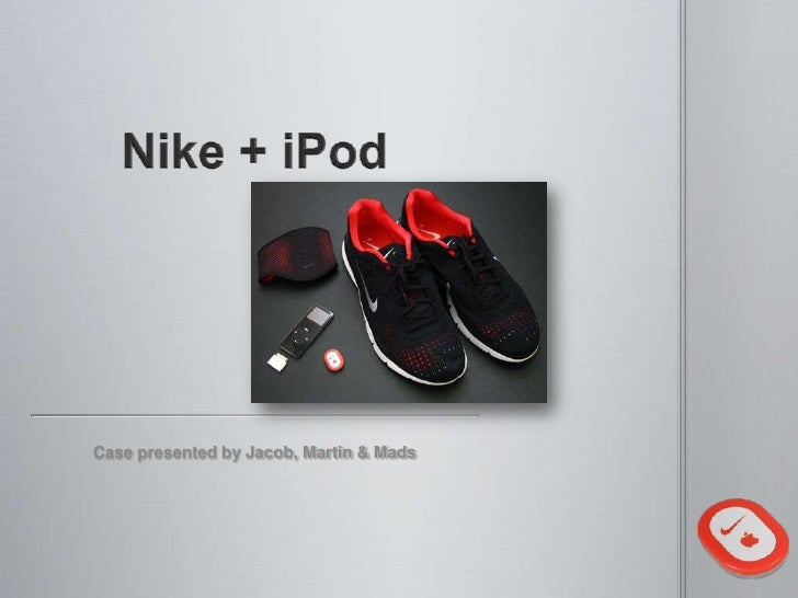 Nike + i pod case
