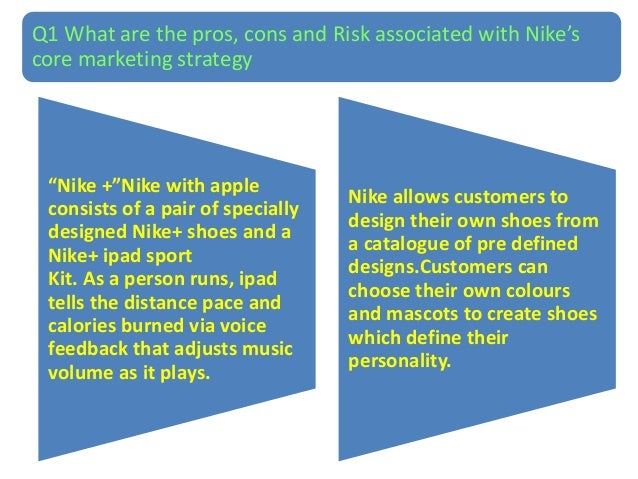 functional strategy of nike How can the answer be improved.