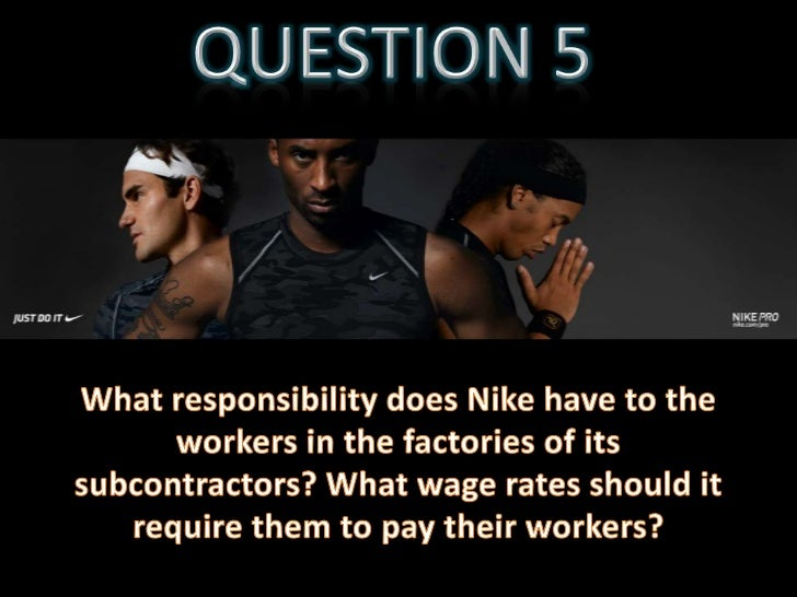 AESS Estudiants nike case study answers