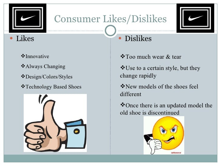 Consumers behavior over shoes
