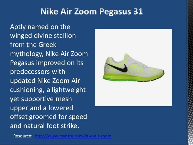 features of nike shoes