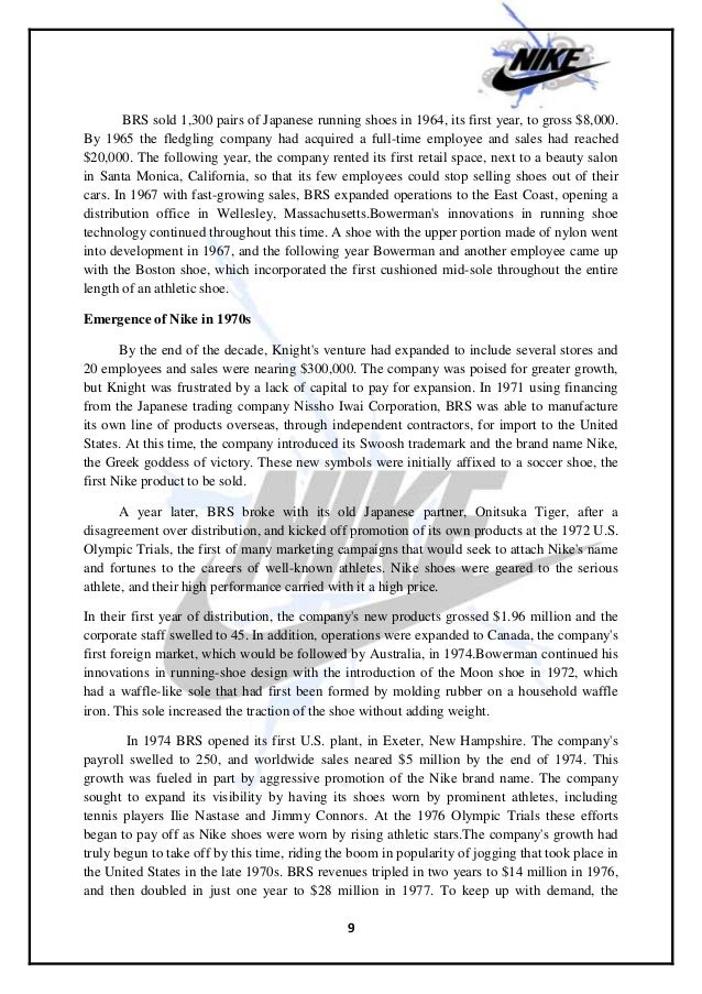 nikes approach to corporate responsibility marketing essay Corporate social responsibility nike essay sample  this approach means that nike can remain loyal to those suppliers which comply with the labour standards (which.