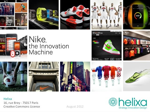 nike case study In 2009 when facebook created brand pages, it was very smart to adopt the terms fans and community these little 2 words partly explain the huge boom of the brand's facebook page.