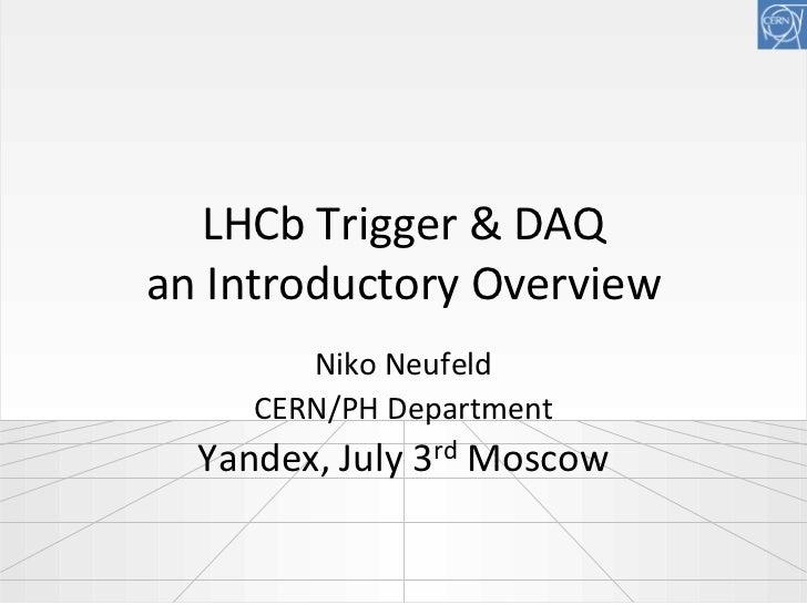 "Niko Neufeld ""A 32 Tbit/s Data Acquisition System"""
