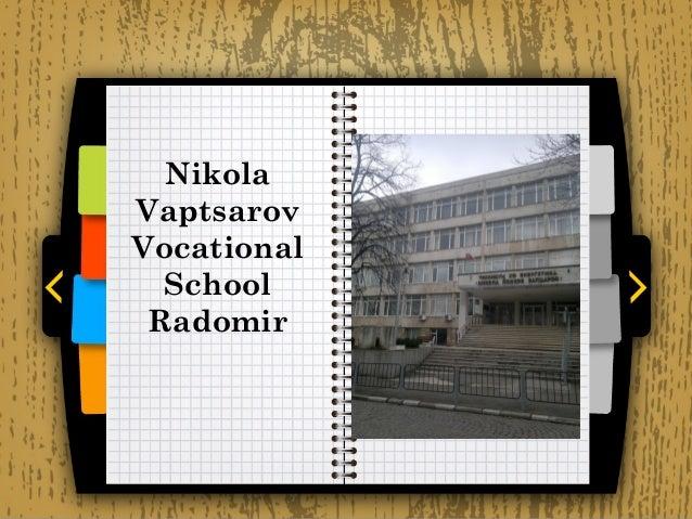 Nikola Vaptsarov School