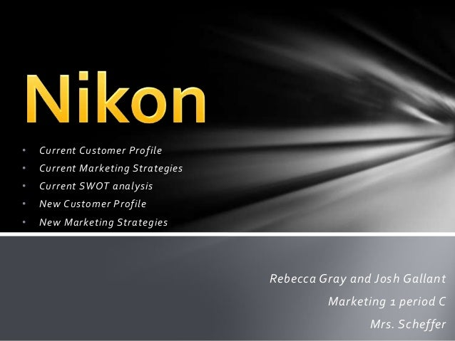 Nikon Corporation - Strategy, SWOT and Corporate Finance Report