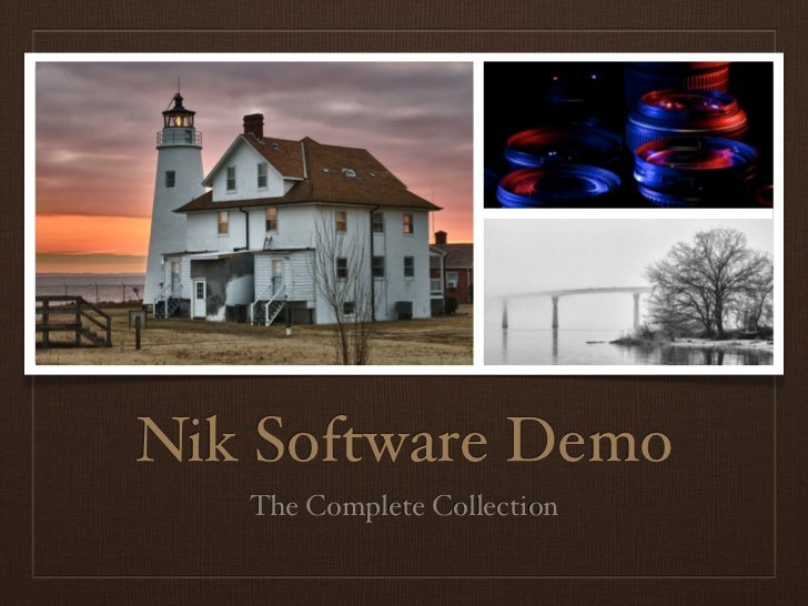 Nik Software Demo   The Complete Collection