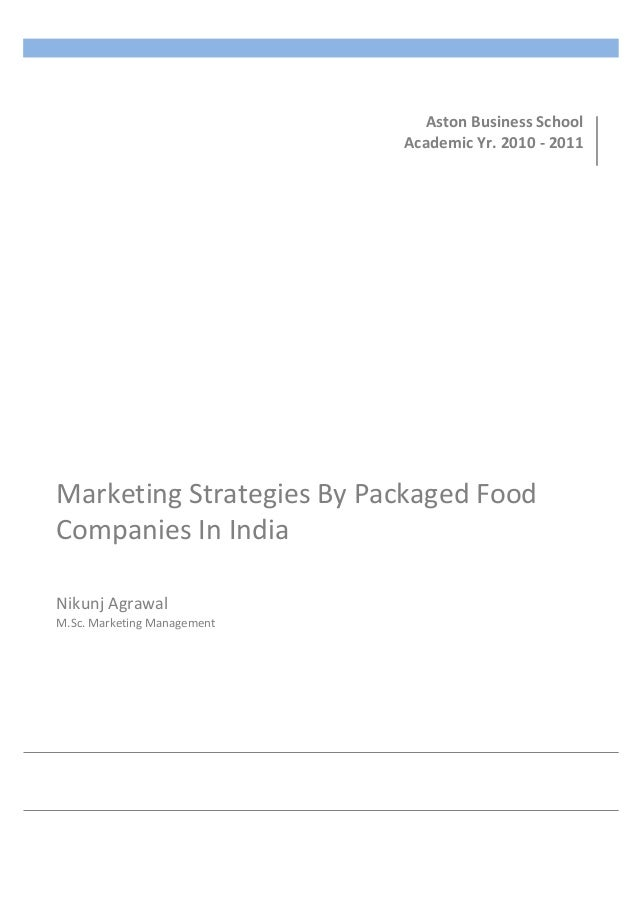 dissertation on marketing strategies