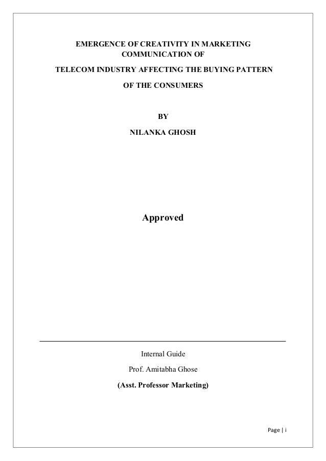 Dissertation on communication
