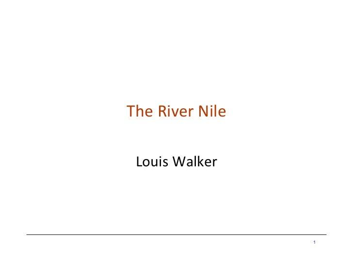 Nile louis walker