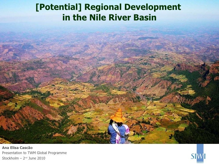 Regional development in the Nile River Basin