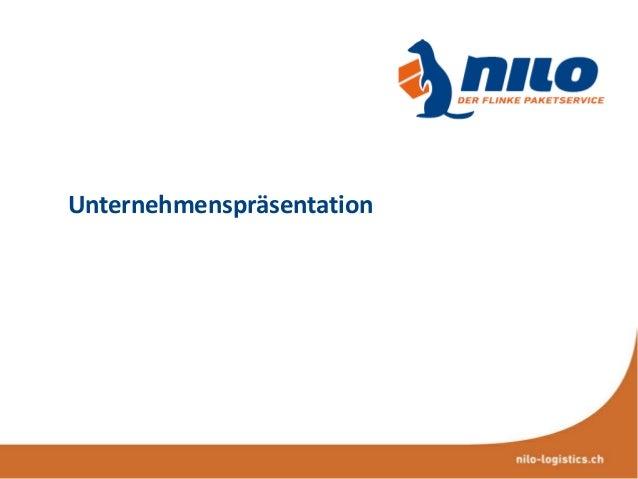 Unternehmenspräsentation  Unternehmenspräsentation 2013