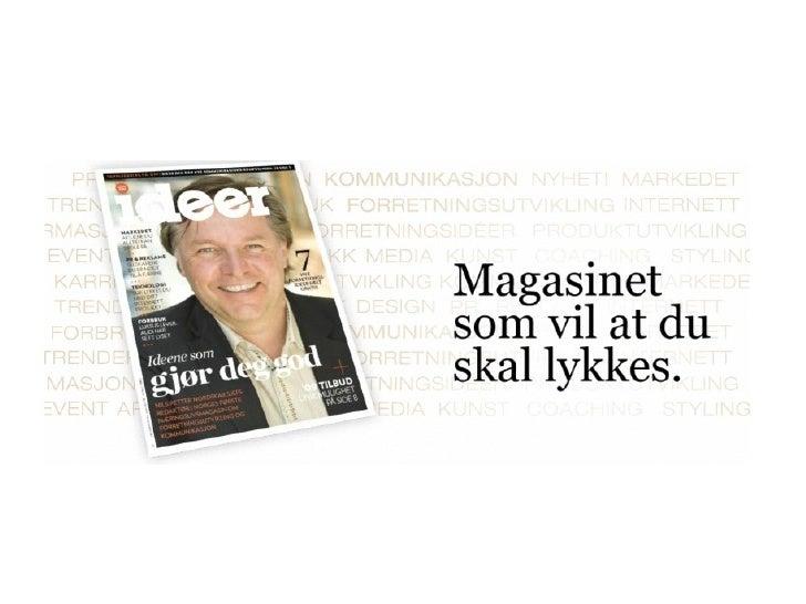 Nils Petter Nordskar - Ideer