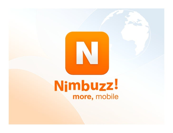 Nimbuzz Profile 2011