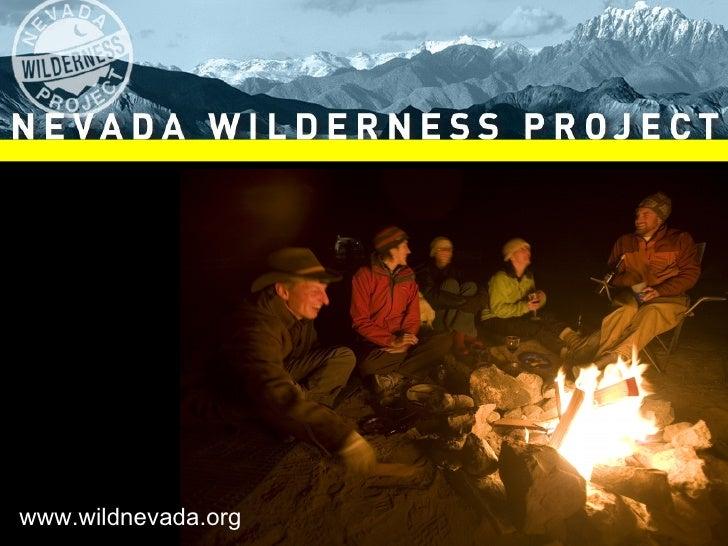 Nevada Wilderness Project's Nevada Interactive Media Summit 2010