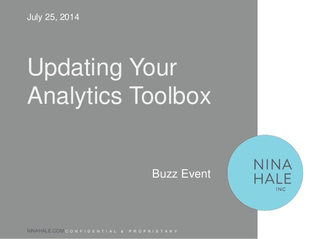 Updating Your Analytics Toolbox: Measurement Solutions for 2014