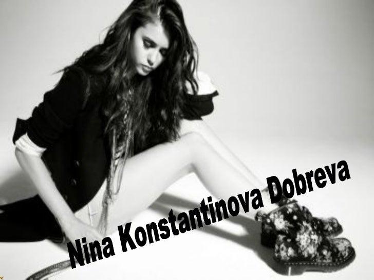 Nina Konstantinova Dobreva