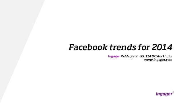 Facebook trends for 2014