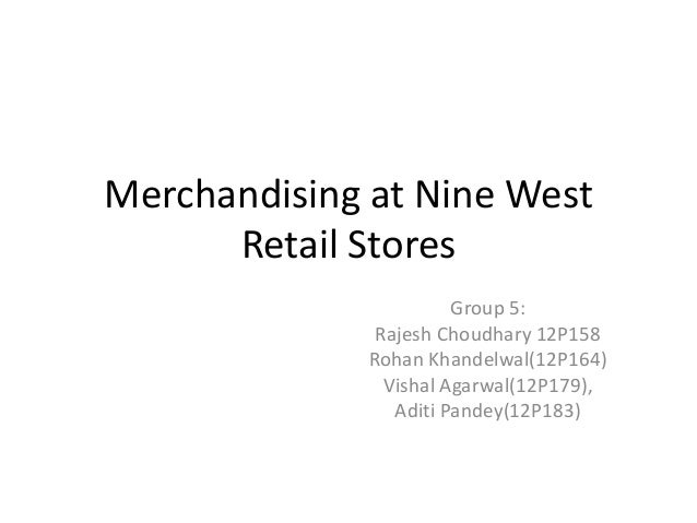 Nine west store group 5