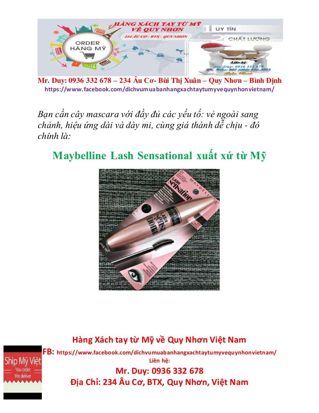 Địa chỉ order mỹ phẩm xách tay tại Quy Nhơn bảo đảm - Magazine cover