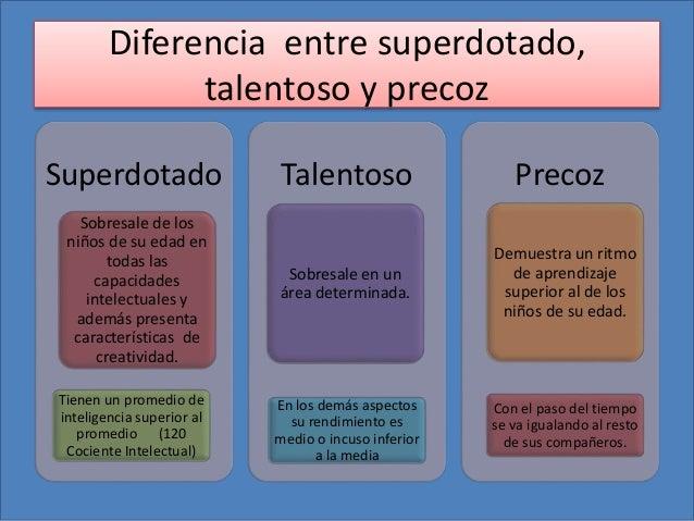 Image result for diferencias de dotado y talentoso