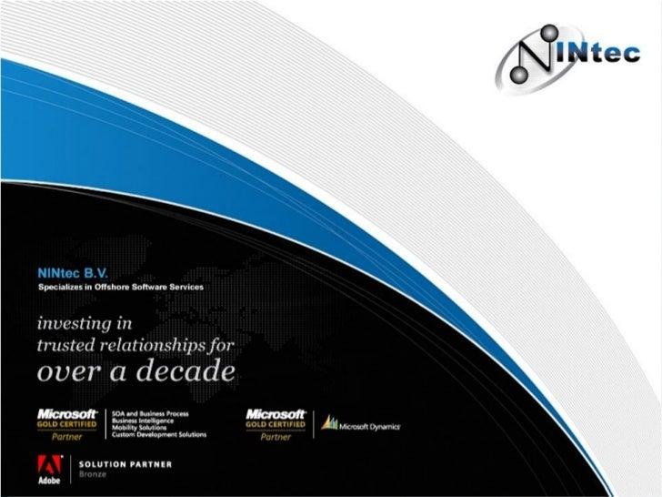 NINtec corporate presentation