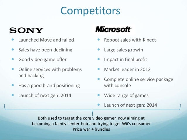 swot analysis of video game consoles