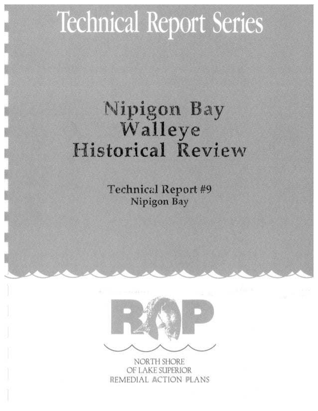 Nipigon Bay Walleye Historical Review