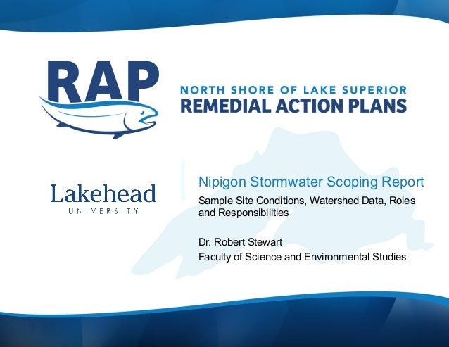 Nipigon storm scoping oct 9 presentation to PAC