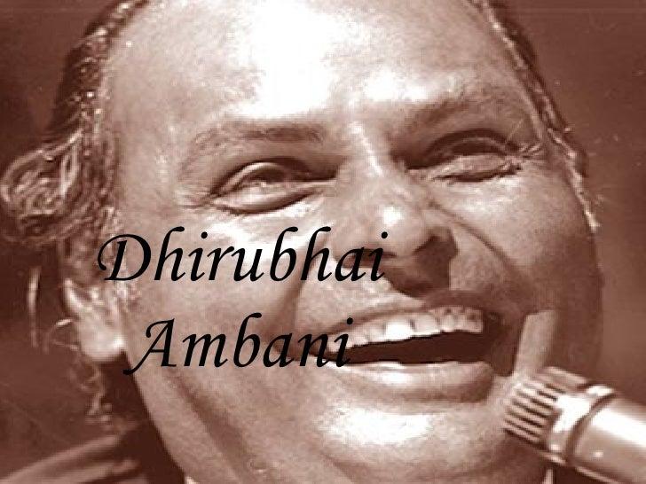 Niraj Dhirubhai Ambani