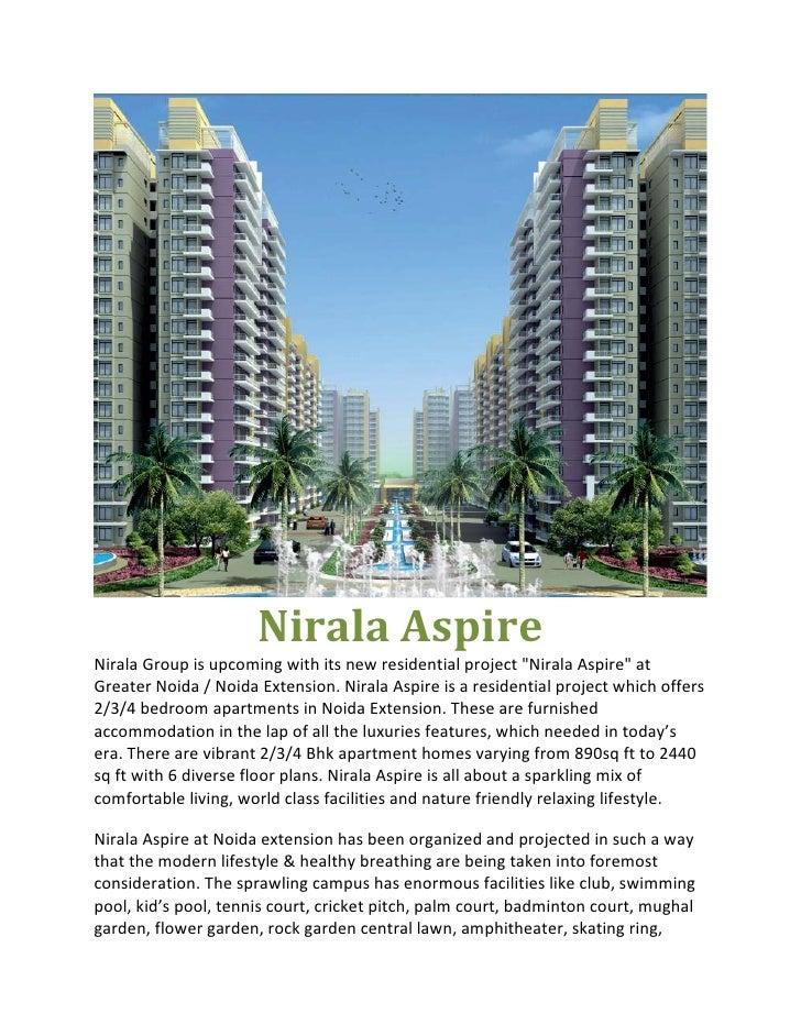 "NiralaAspireNiralaGroupisupcomingwithitsnewresidentialproject""NiralaAspire""atGreaterNoida/NoidaExtension..."