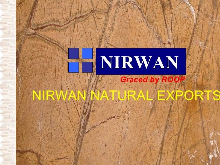 Nirwan Natural Exports Stones Catalogue
