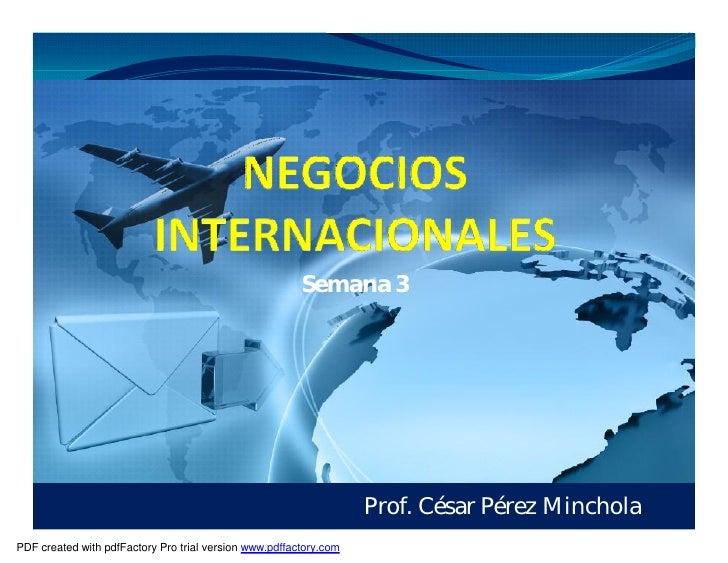 Semana 3                                                                        Prof. César Pérez Minchola PDF created wit...