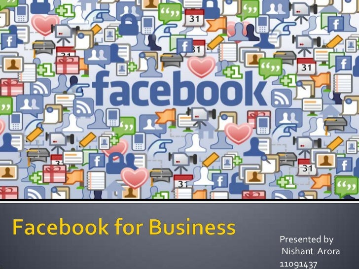 Facebook and use of facebook for marketing
