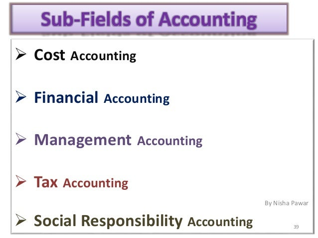 How can I change my field from Accounting to...?