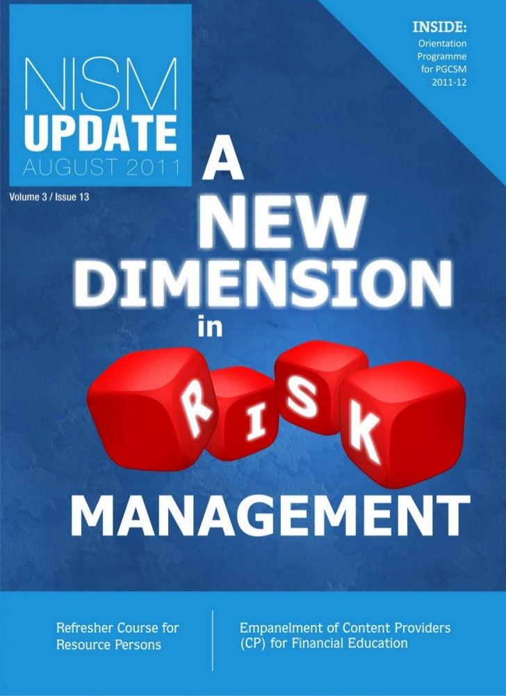 NISM Update August 2011