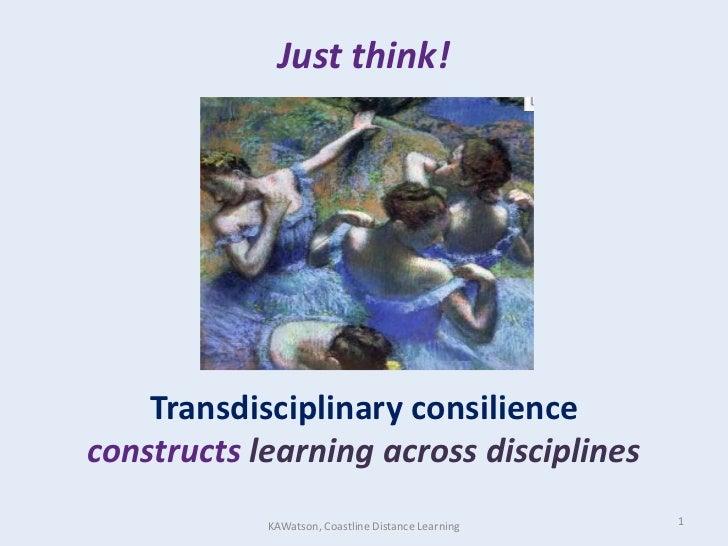 Nisod 11 just thinktransconsilienceacrossdiscf