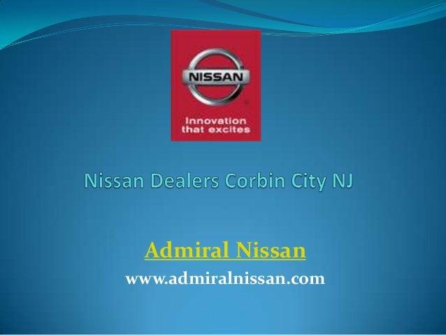 Admiral Nissan www.admiralnissan.com