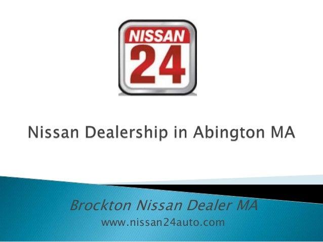 Nissan Dealership in Abington MA