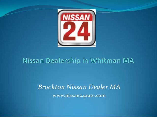 Nissan Dealership in Whitman MA