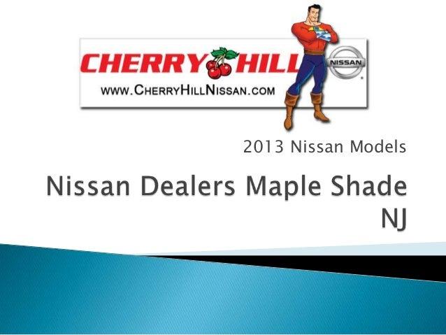 2013 Nissan Models