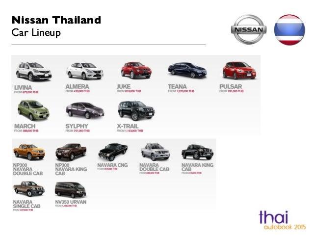 Nissan Thailand  Car Lineup Nissan Thailand  Car Lineup