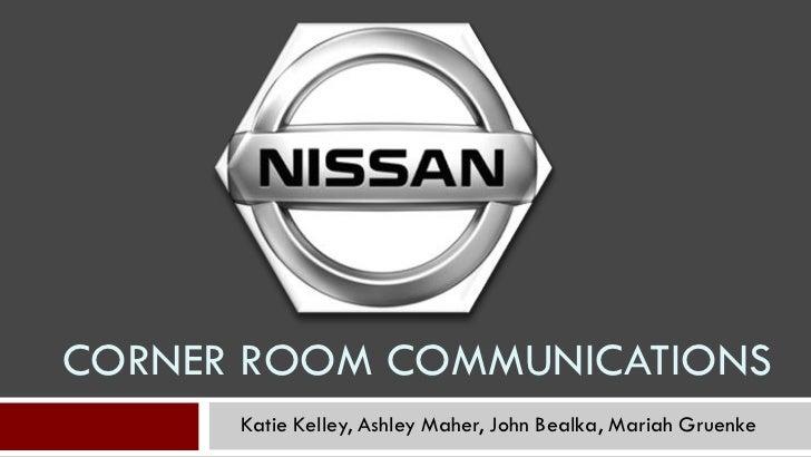 CORNER ROOM COMMUNICATIONS      Katie Kelley, Ashley Maher, John Bealka, Mariah Gruenke
