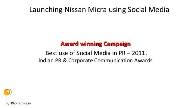 Phonethics.inAward winning CampaignAward winning CampaignBest use of Social Media in PR – 2011,Indian PR & Corporate Commu...