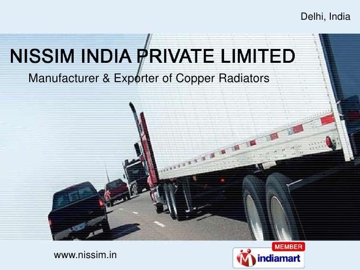 Industrial RadiatorsAutomobile Delhi India