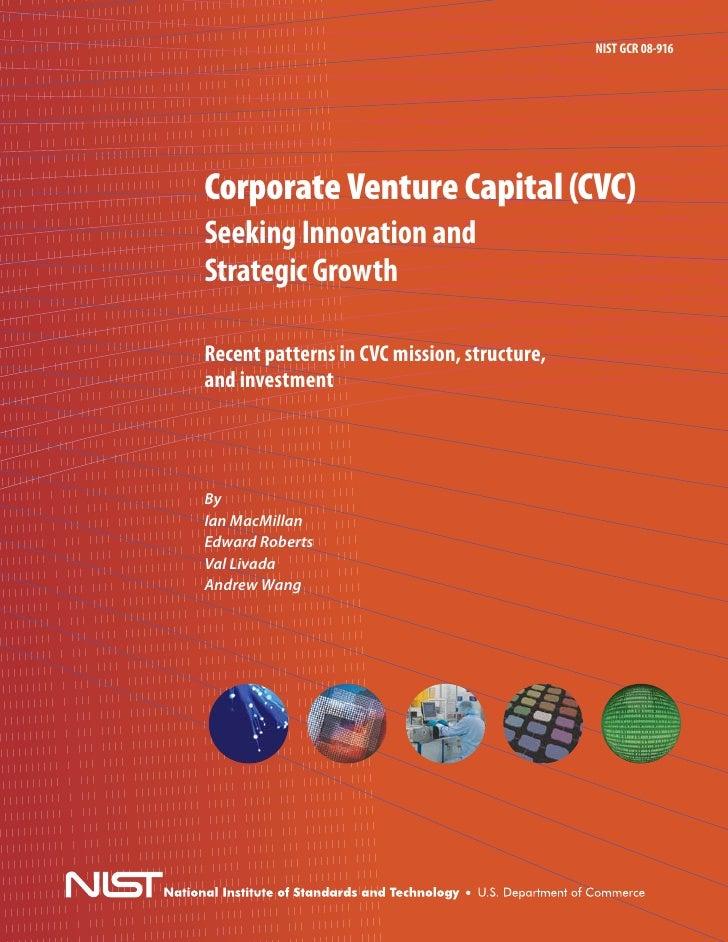 NIST Corporate Venture Capital Study