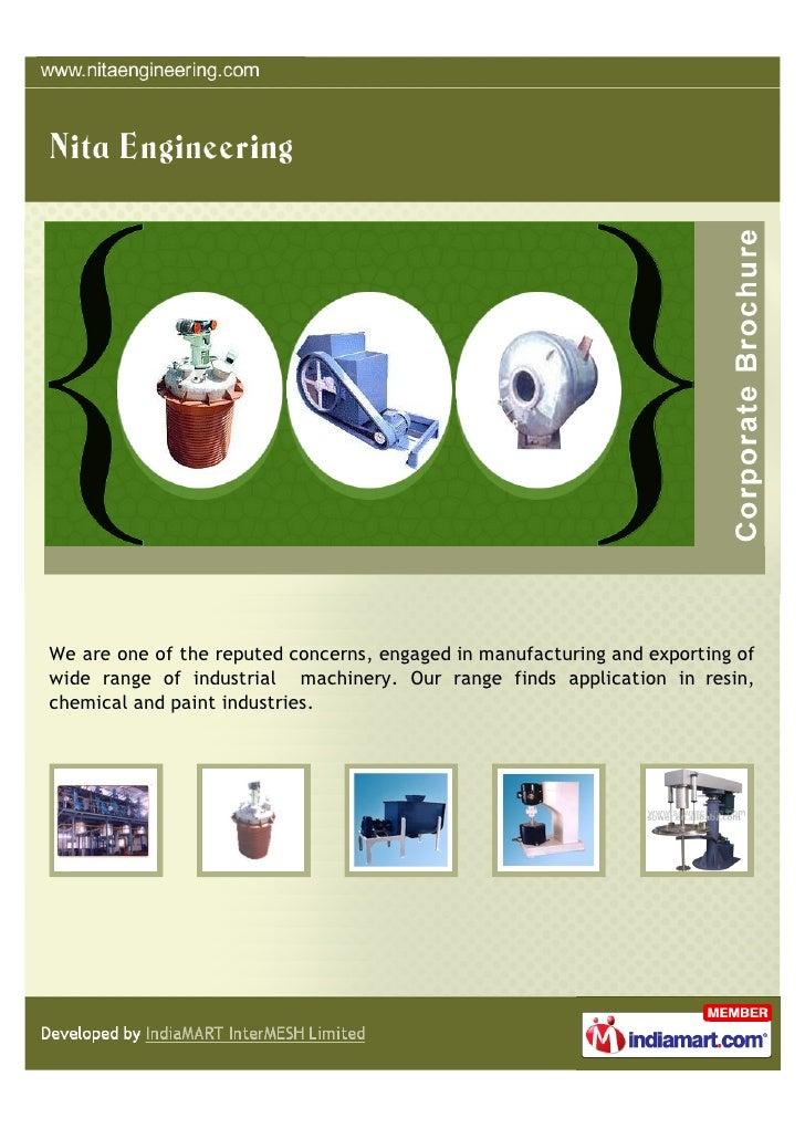 Nita Engineering, Ahmedabad, Plant & Machinery