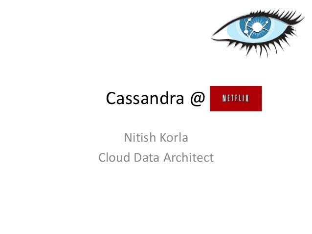 cassandra@Netflix